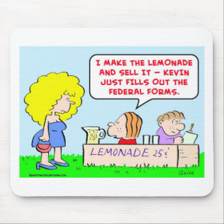 lemonade federal forms mouse pad