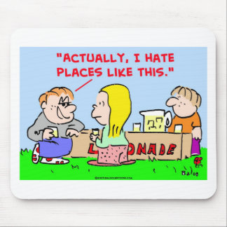lemonade hate places dating flirting mouse pad
