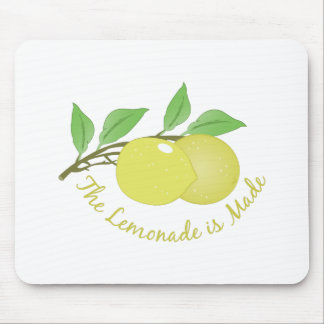 Lemonade Is Made Mouse Pad