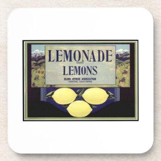 Lemonade Lemons Beverage Coaster