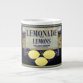 Lemonade Lemons Jumbo Mug