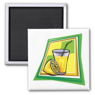 Lemonade Square Magnet