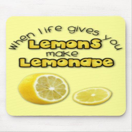 Lemonade - Mousepad