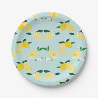 Lemonade Paper Plate