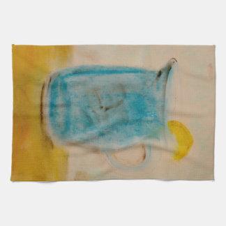 Lemonade pitcher dish towel
