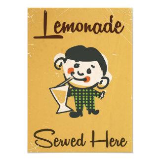 Lemonade Served here vintage Drinks commercial Photo