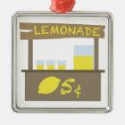Lemonade Stand Metal Ornament