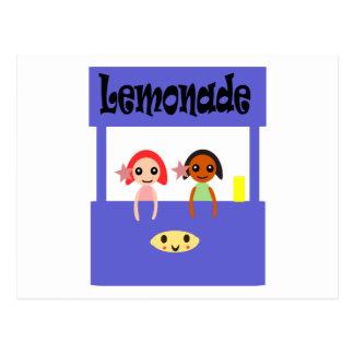 Lemonade Stand Postcard
