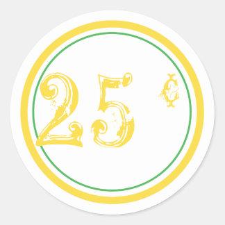 Lemonade Stand Price Stickers