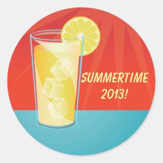 Lemonade Summertime Party Stickers