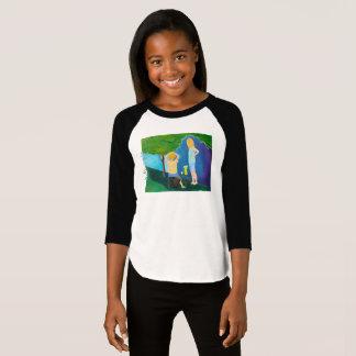 Lemonade Wars Big Girl's Raglan T-Shirt