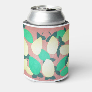 Lemons and Limes Citrus Fresh Pattern Can Cooler