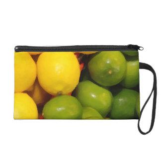 Lemons and Limes Wristlet Purses