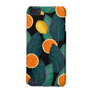 lemons and oranges black iPod touch (5th generation) case