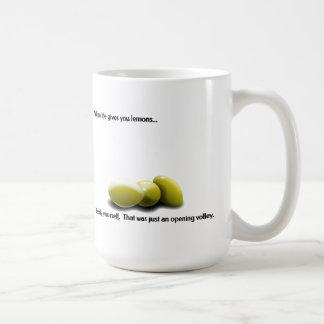 Lemons Basic White Mug