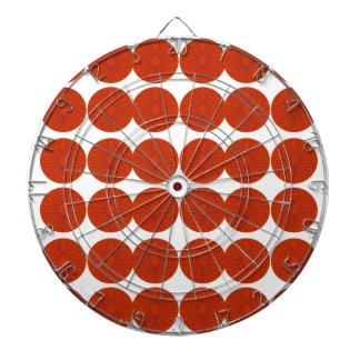 Lemons design illustration dartboard