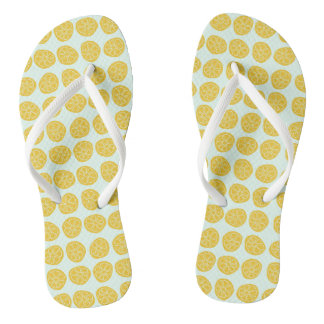 Lemons for Days - Flip Flops Thongs