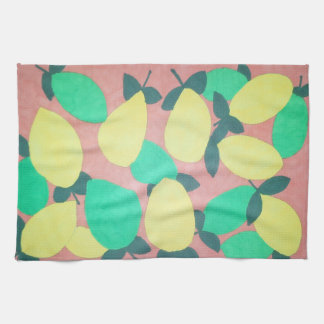 Lemons & Limes Citrus Fresh Pattern Kitchen Towel