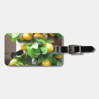 Lemons Luggage Tag