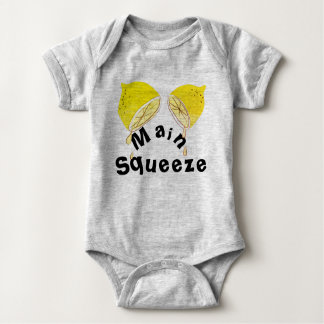 Lemons Main Squeeze Baby Tshirt