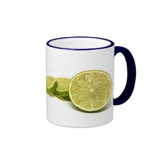 lemons ringer coffee mug