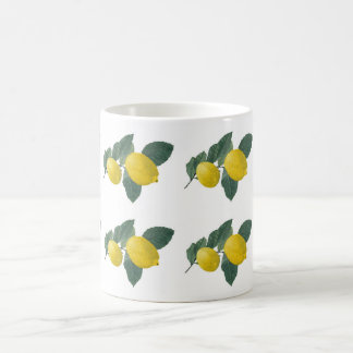 Lemons on a branch mug