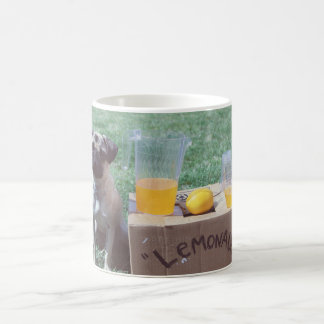 Lemons Pug Mug Cup