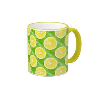 Lemons Ringer Mug