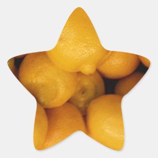 Lemons Star Sticker