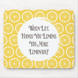 Lemons to Lemonade Mouse Pad
