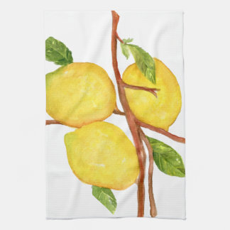 Lemons towel
