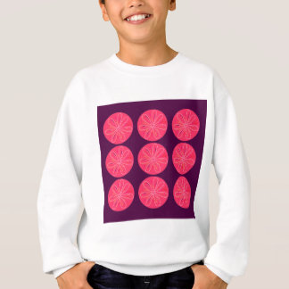 Lemons with wine slices sweatshirt