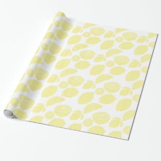 Lemons Wrapping Paper