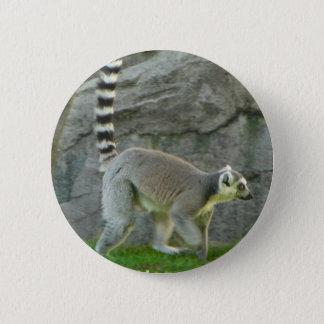 Lemur 6 Cm Round Badge
