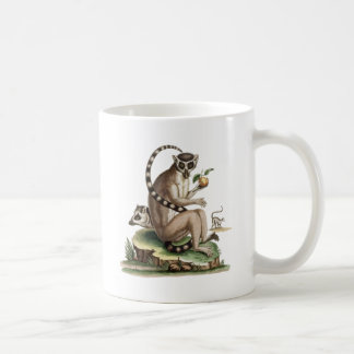 Lemur Artwork Coffee Mug