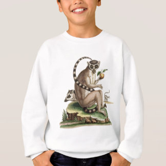 Lemur Artwork Sweatshirt