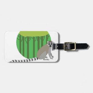 Lemur Bag Tag