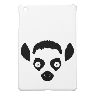 Lemur Face Silhouette iPad Mini Cases