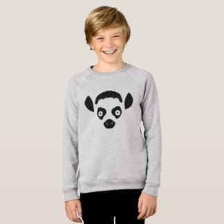 Lemur Face Silhouette Sweatshirt