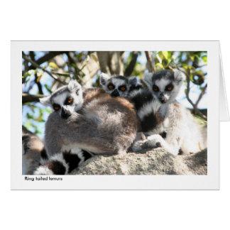 Lemur Gift Card