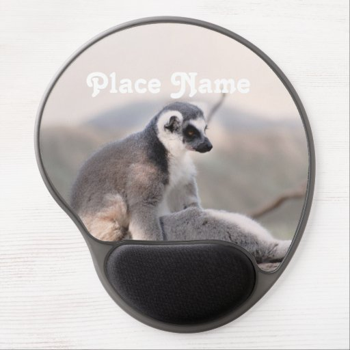 Lemur in Madagascar Gel Mousepads