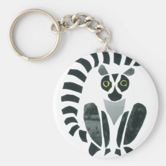 Lemur Key Ring