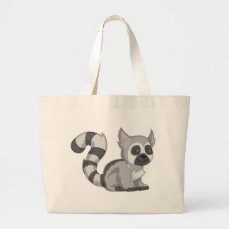 Lemur Large Tote Bag