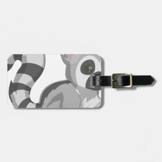 Lemur Luggage Tag