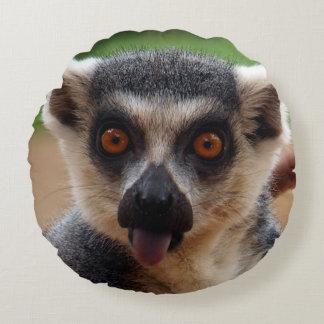 Lemur Round Cushion