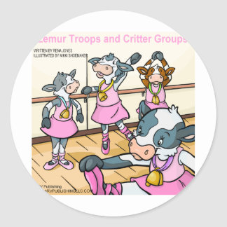 Lemur Troops & Critter Groups cattle Stickers