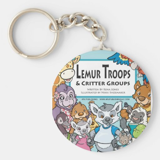 Lemur Troops & Critter Groups Keychain