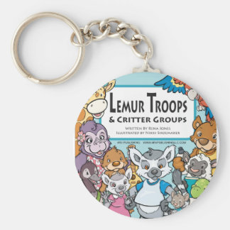 Lemur Troops Critter Groups Keychain