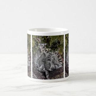 Lemurs in a row Mug