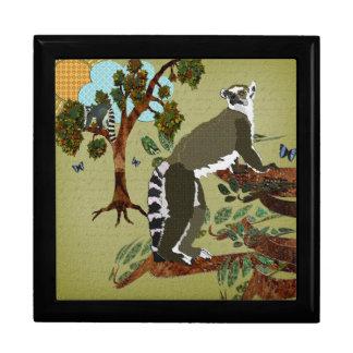 Lemurs Olive Morning Gift Box